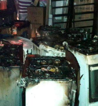 accidentes en los electrodomésticos