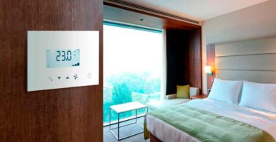 Panasonic renueva el control táctil de los sistemas de climatización en hoteles