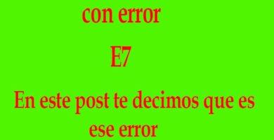 Error-E7-en-HAIER