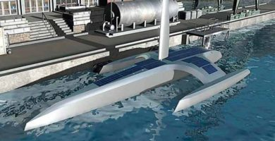 Con energía eólica y solar navegará el barco autónomo Mayflower