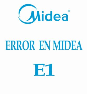 MIDEA ERROR E1