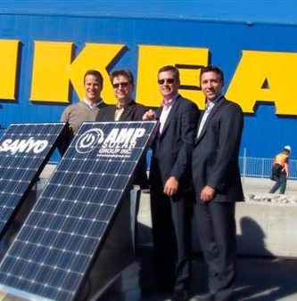 IKEA incorpora energía solar domestica a precios muy competitivos